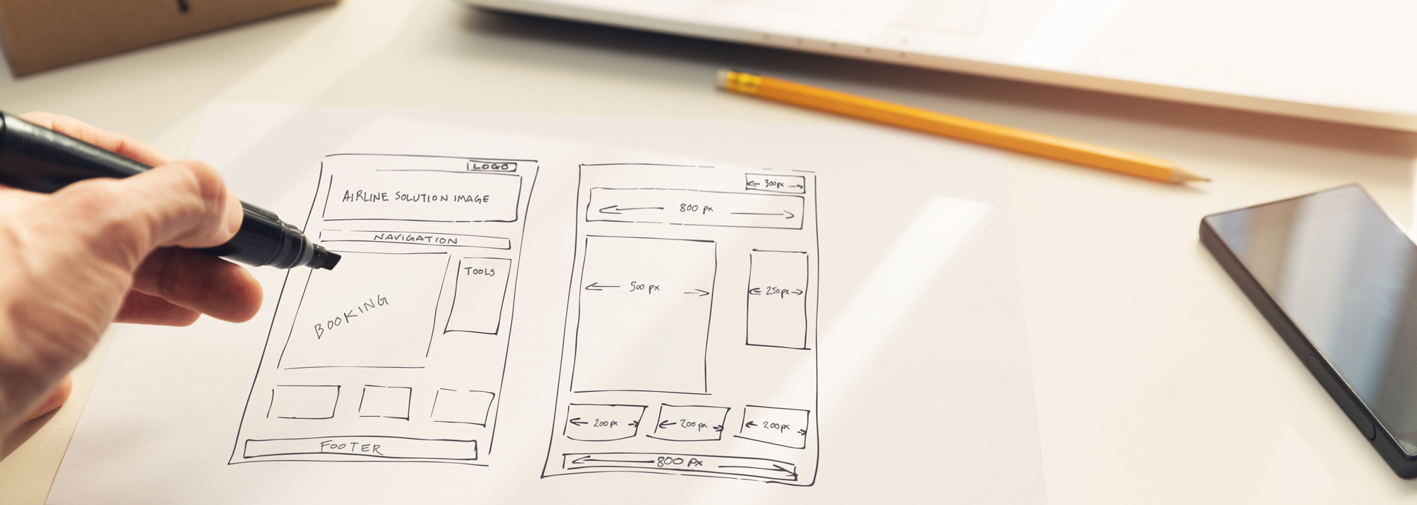 UX Design & UI Development