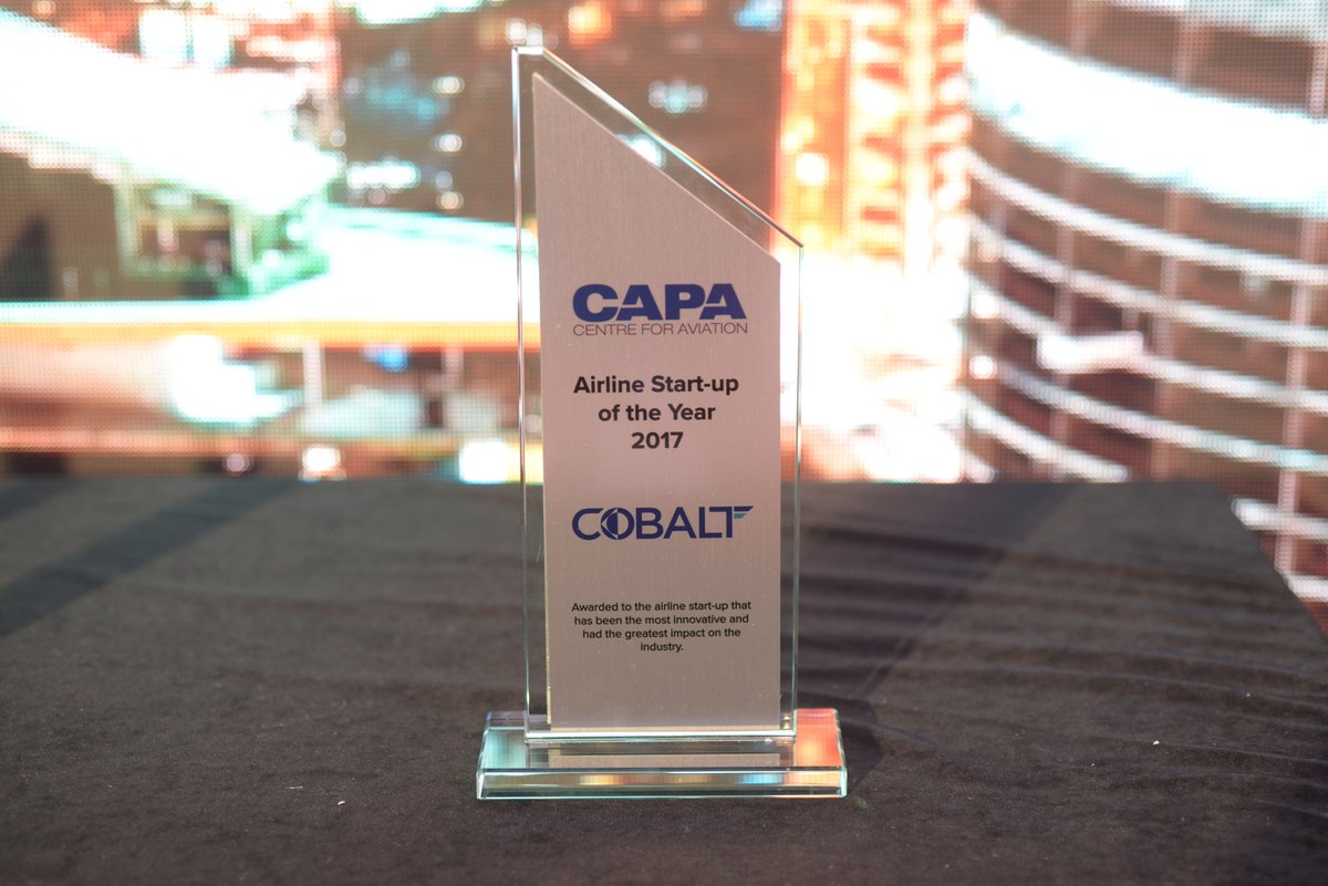 Newshore customer COBALT selected by CAPA as Startup Airline of the Year